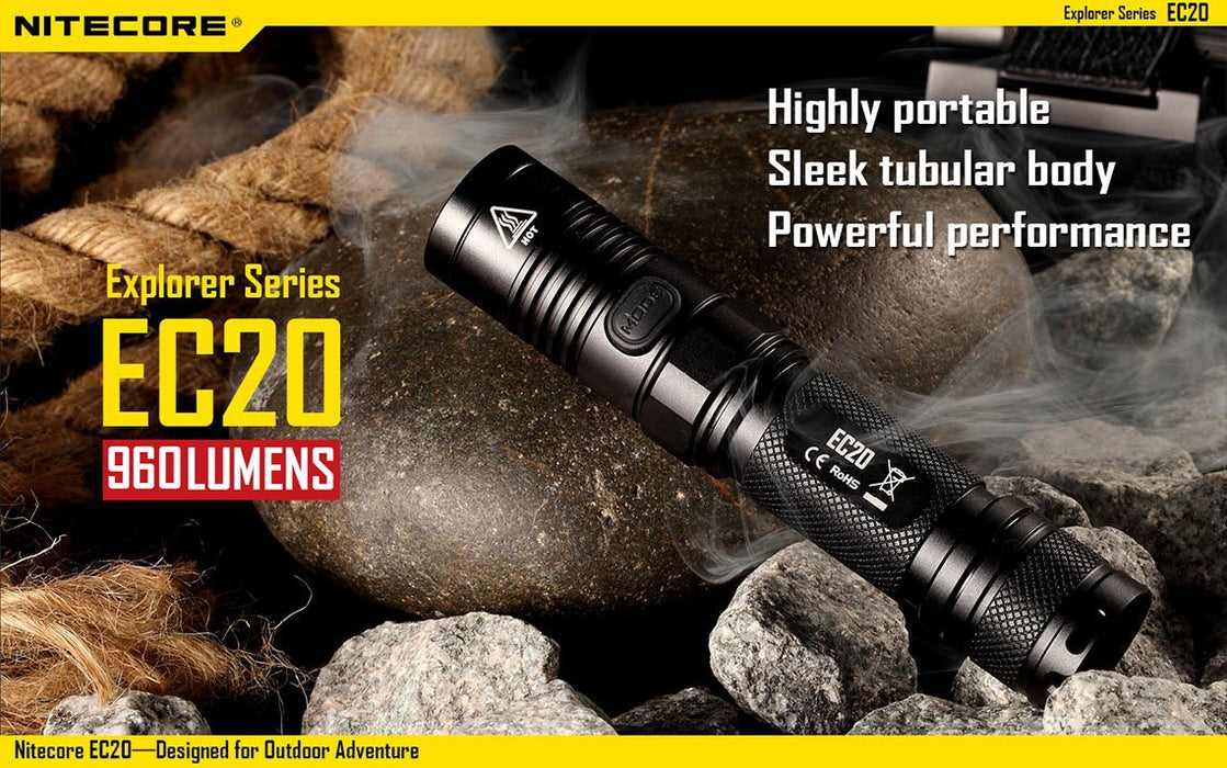 Nitecore EC20 LED Flashlight