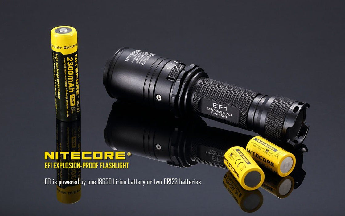 Nitecore EF1 Explosion Proof LED Flashlight