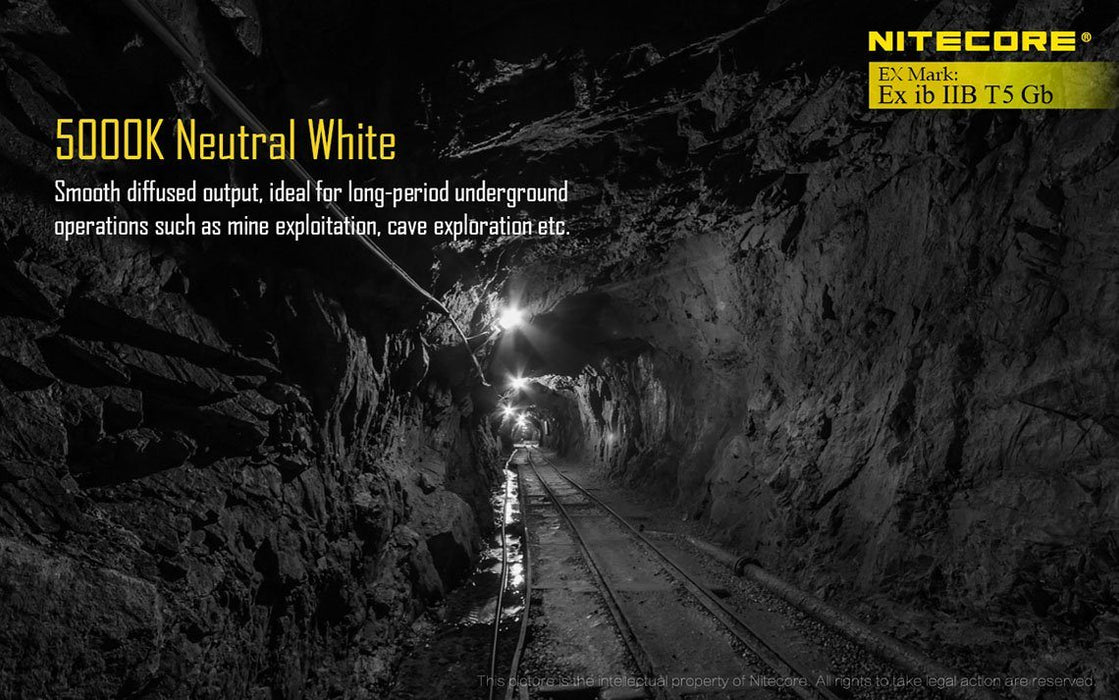 Nitecore EH1 Explosion-Proof Headlamp Flashlight
