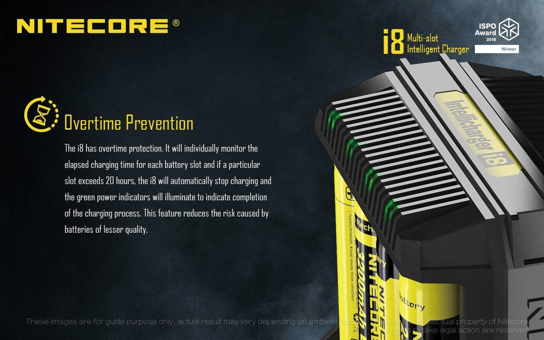 Nitecore i8 - 8 Bay Universal Battery Charger