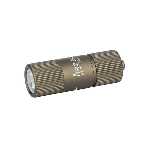 Olight I1R 2 EOS Carry LED FlashLight Desert Tan (with USB Charging Cable) Flashlight Olight