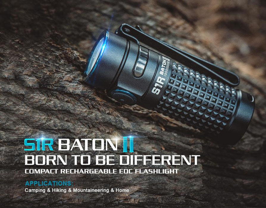 Olight S1R II Baton 1000 lumens Rechargeable LED  Flashlight