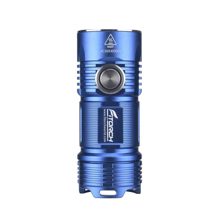 FiTorch P25 3000 Lumens Rechargeable LED EDC Flashlight - Choice of Blue or Red Flashlight FiTorch Blue