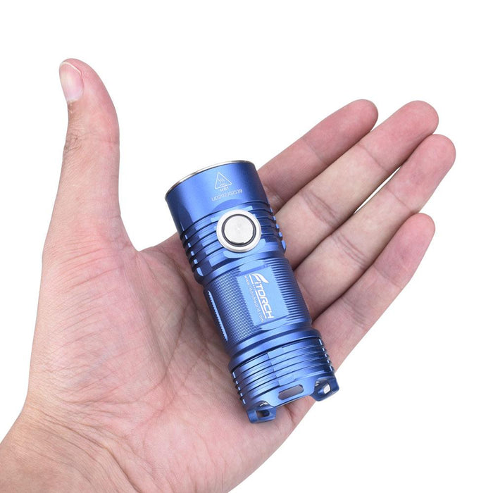 FiTorch P25 3000 Lumens  Rechargeable LED EDC Flashlight - Choice of Blue or Red