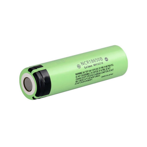 Panasonic NCR18650B Battery 3.7V 18650 Flat Top Battery