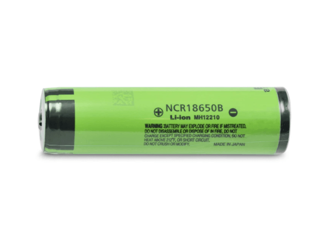 Panasonic NCR18650B 18650 Button Top Protected Battery Rechargeable Battery Panasonic