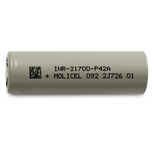 Molicel INR21700-P42A 4000mAh - 45A Battery Rechargeable Batteries Molicel