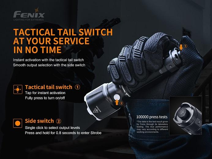Fenix TK22UE Tactical LED Flashlight - 1600 Lumens
