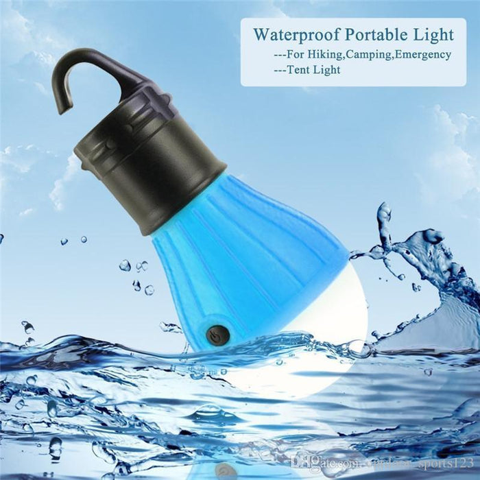 Waterproof Portable Camping Flashlight  LED Bulb AAA