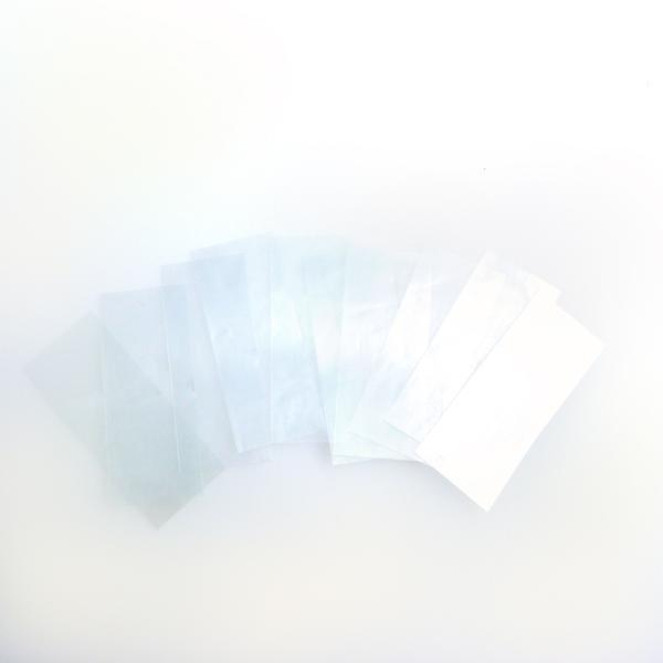 18650 PVC Heat Shrink Battery Wraps - 10pcs - Clear Battery Wraps FlashLightWorld Canada