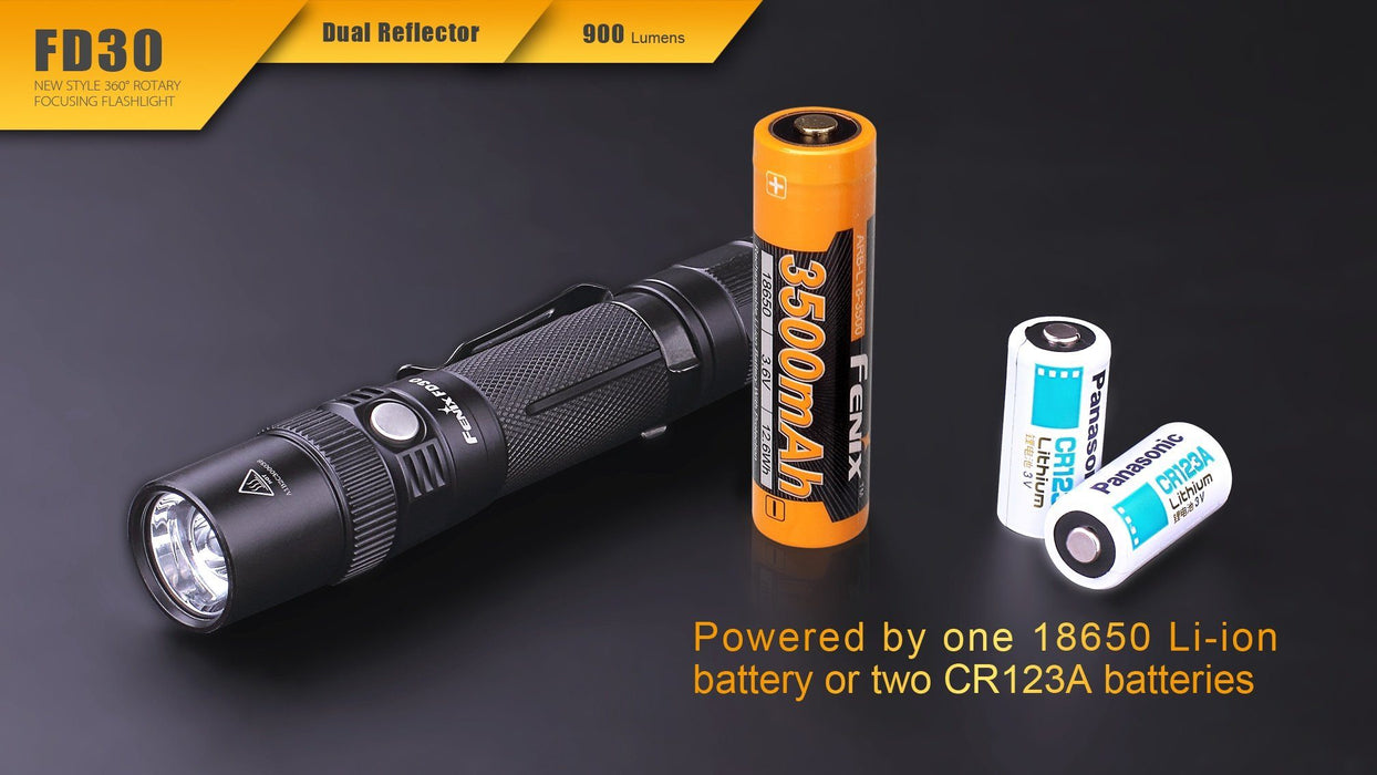 Fenix FD30 Focus Beam LED Flashlight