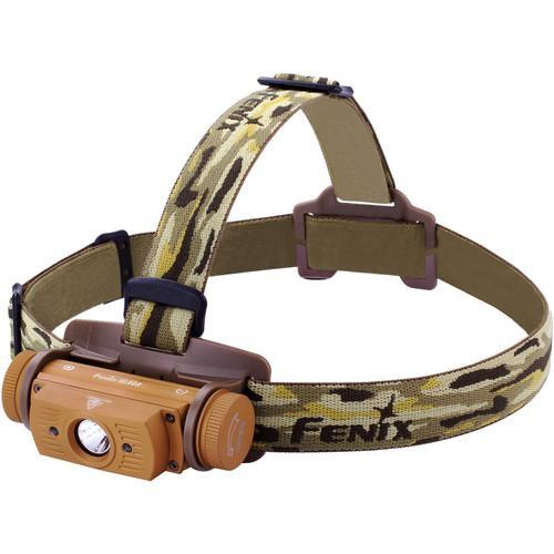 Fenix HL60R USB Rechargeable LED Headlamp Desert Yellow
