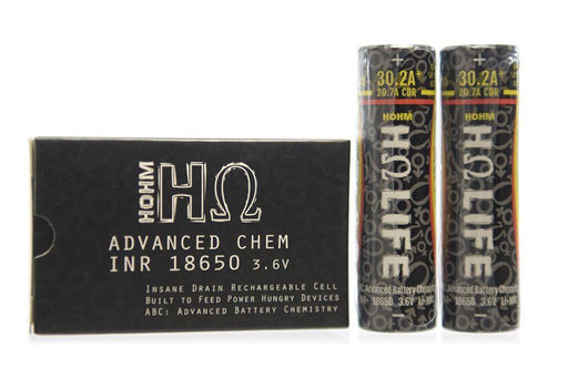 Hohm Life 3077mAh 30.2A 18650 INR+ battery Rechargeable Batteries Hohm Life