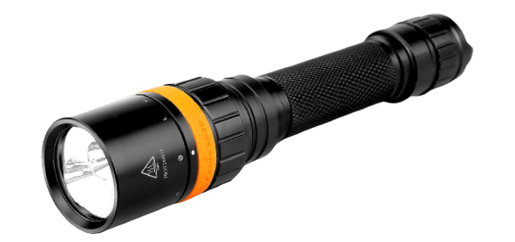 Fenix SD20 LED Dive Light, One hand operation