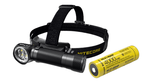 NITECORE HC35 USB Rechargeable L-Shape Detachable Headlamp Flashlight
