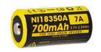 Nitecore IMR 18350 Battery 700mAh 3.7V - Rechargeable FOR EC11