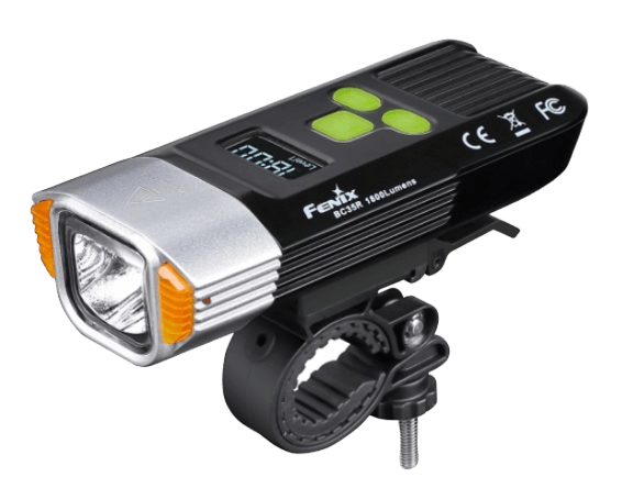 Fenix BC35R 1800 Lumen Rechargeable LED Bike Light, Anti theft Protection