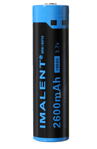 Imalent MRB-186P26 2600mah Rechargeable 18650 Lithium Battery