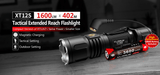 Klarus XT12S 1600 Lumen Tactical LED Flashlight