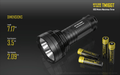 Nitecore TM16GT Flashlight