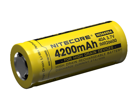 Nitecore IMR26650A Rechargeable Battery