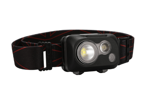 Klarus HC1-R Dual Color 3 LEDs Featherweight Waterproof LED Headlamp Headlamp Klarus