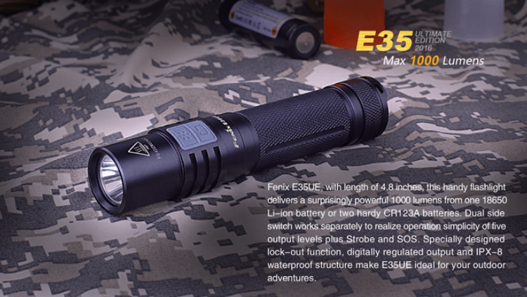 Fenix E35UE 2016 LED flashlights