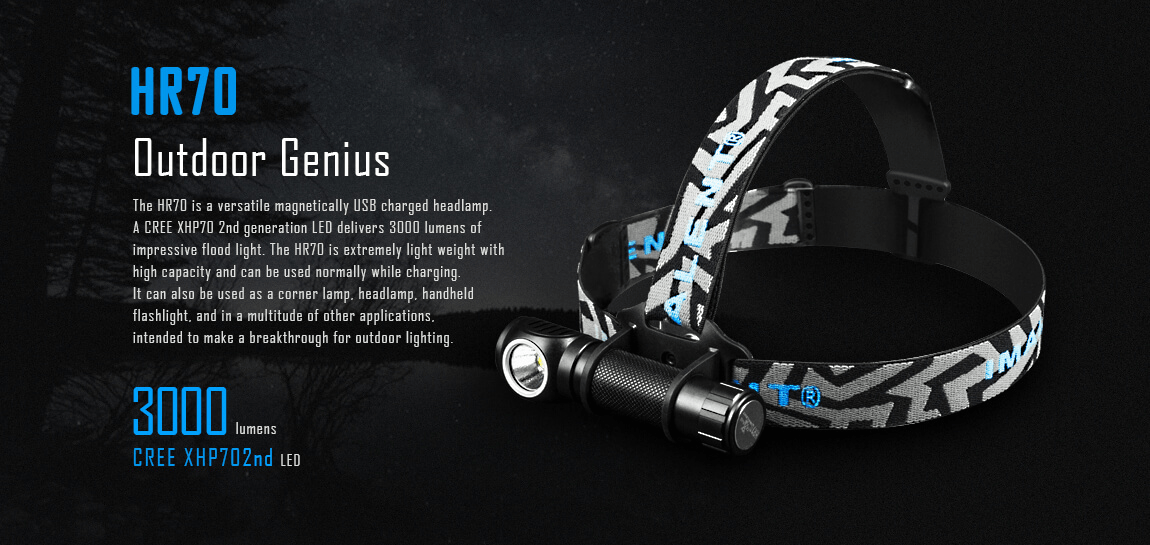 IMALENT HR70 LED HEADLAMP