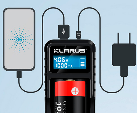 Klarus K1X Charger With LCD Screen