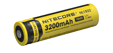 Nitecore NL1832 18650 Rechargeable Battery Rechargeable Batteries Nitecore