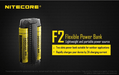 Nitecore F2 Flex Dual-Slot Power Bank Outdoor Charger
