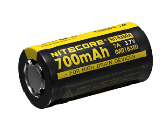 Nitecore IMR 18350 Rechargeable Battery