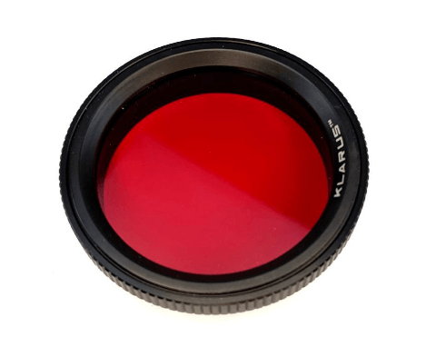 Klarus FT30 Thread on Flashlight Filter Red