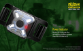 NU05 MI Green and IR INFRARED Wearable USB Rechargeable Signal Indicator  Light