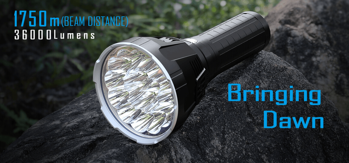 Imalent R90TS Tactical LED Flashlight