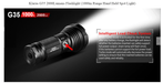 Klarus G35 2000 Lumens Flashlight With a Max Beam Distance