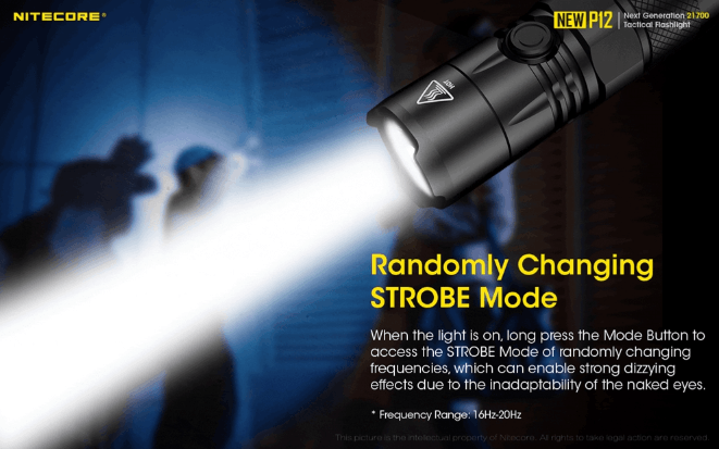 Nitecore New P12 LED Flashlight