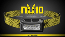 Nitecore NU10 160 Lumens Rechargeable Wide Angle LED Headlamp
