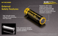 Nitecore NL1485 850mAh 14500 Li-ion Rechargeable Battery