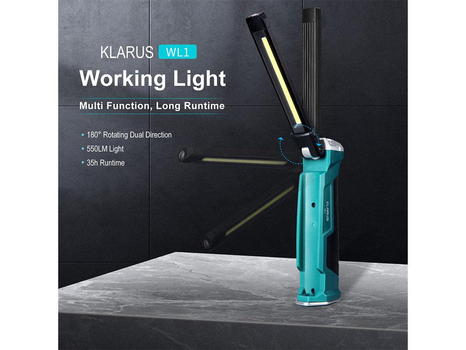 Klarus WL1 550 Lumens LED Work Light Lantern Light Klarus