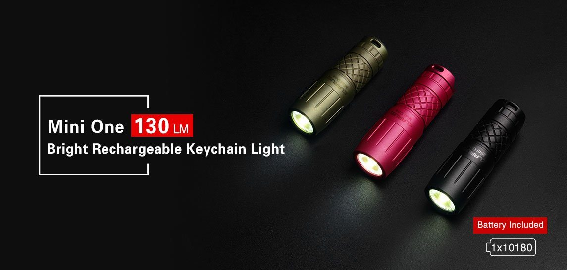 Klarus Mini One Bright Rechargeable Key chain Light