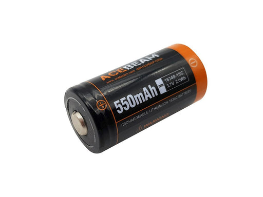 Acebeam IMR 16340 550mAh 3.7V Rechargeable Li-ion Battery Rechargeable Batteries Acebeam