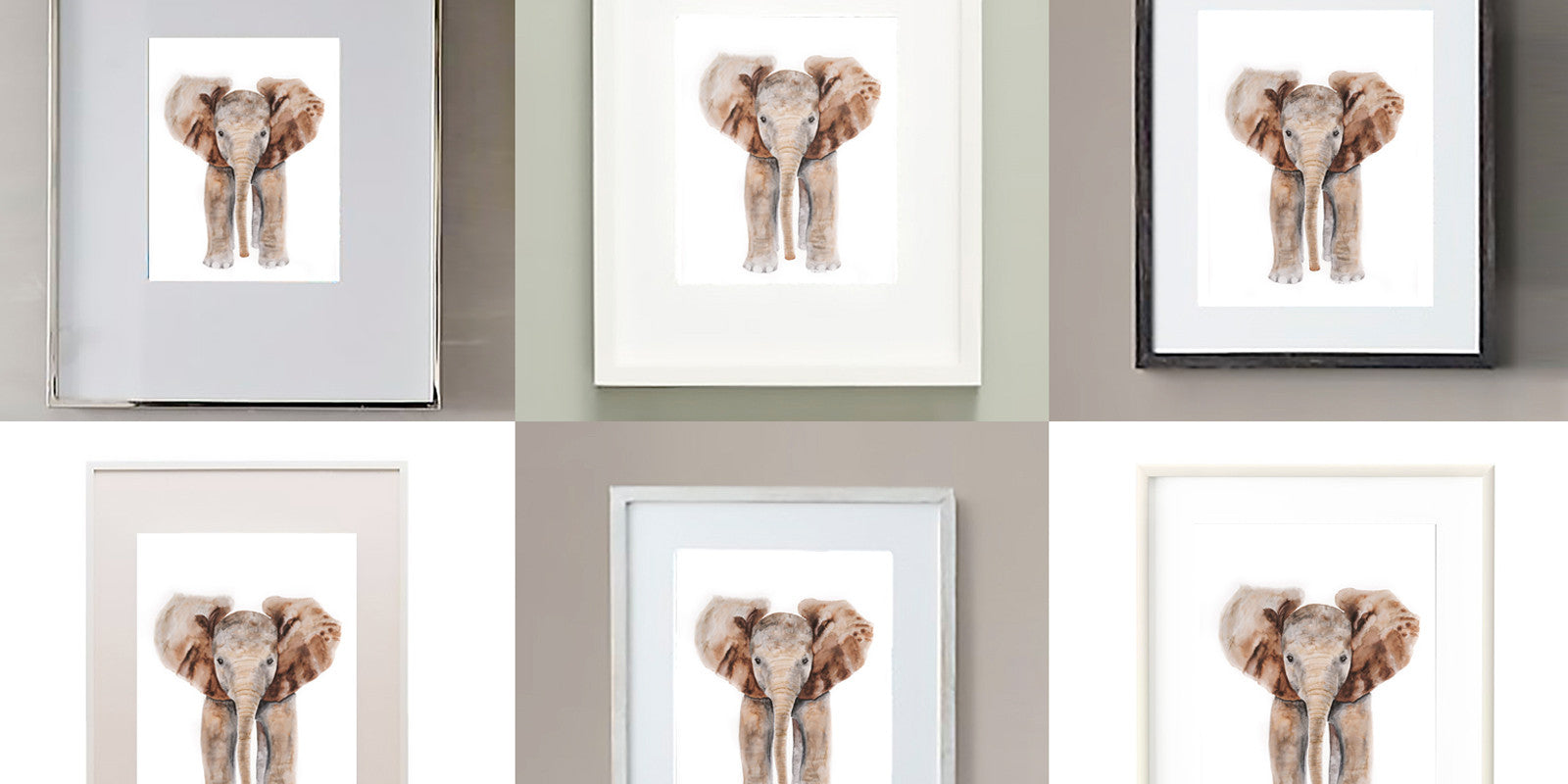 Part 3: Where to Buy Art Frames - Tiny Toes Design