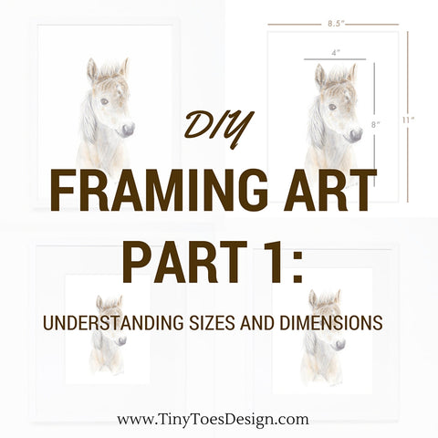 DIY Framing Art