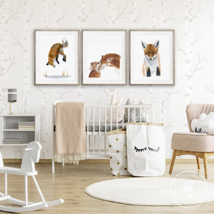 Fox Nursery Decor
