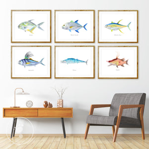 Sport Fishing Wall Art