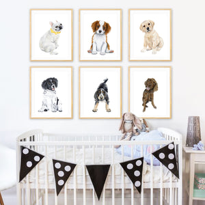 Puppy Nursery Prints