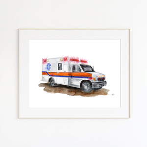Ambulance Wall Art