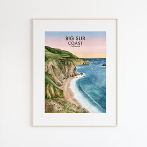 Big Sur Coast Poster