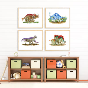 Dinosaur Family Print Set